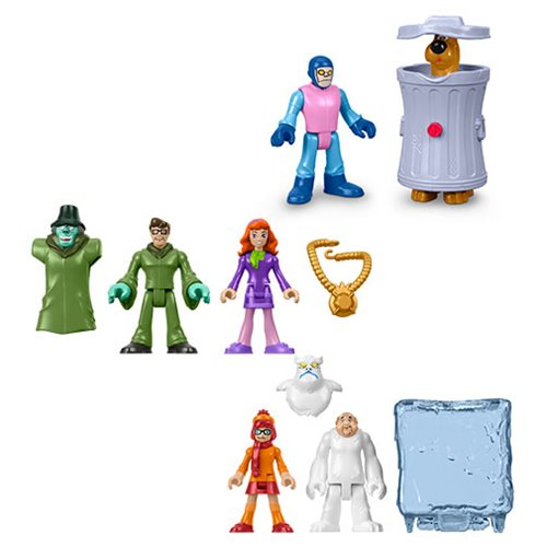Scooby-Doo Imaginext Basic Action Figure Case