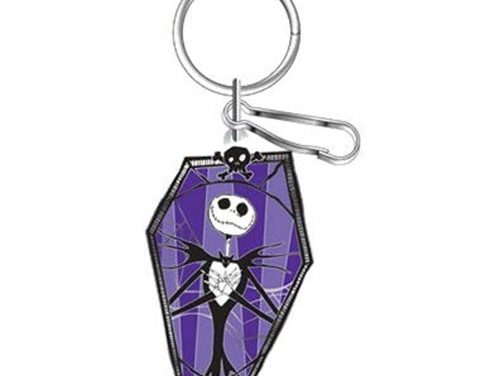The Nightmare Before Christmas Coffin Enamel Key Chain