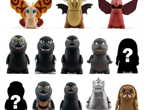 Godzilla: King of the Monsters Mini-Figure Display Tray – Free Shipping