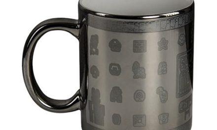 Super Mario Bros. Silver Glossary 11 oz. Mug
