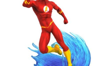 DC Gallery Flash Comic Statue