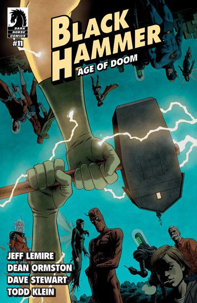 Black Hammer: Age of Doom #11 (Joe Rivera Variant Cover)