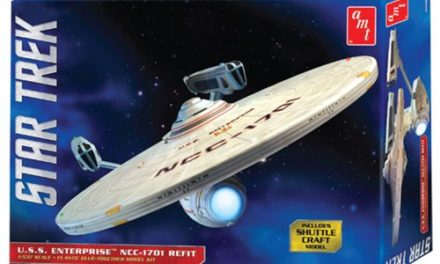Star Trek U.S.S. Enterprise NCC-1701 Refit Model Kit