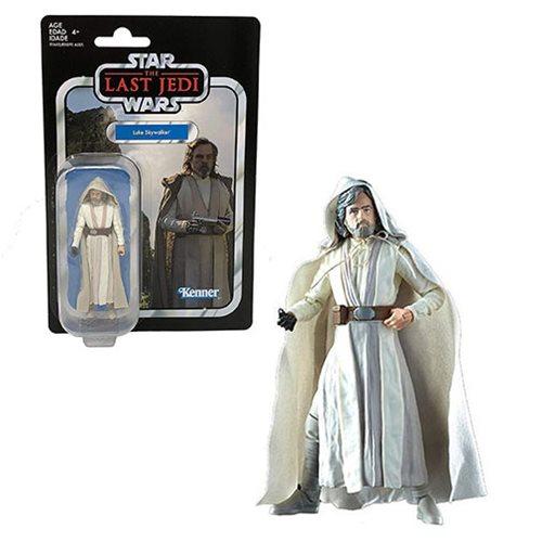 Star Wars The Vintage Collection Luke Skywalker Jedi Master 3 3/4-Inch Action Figure