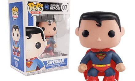 Superman Pop! Heroes Vinyl Figure