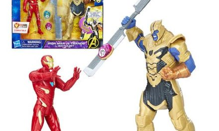 Avengers: Infinity War Iron Man vs. Thanos Battle Set Action Figures