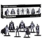 Batman Black and White Mini-Figure 7-Pack Box Set One
