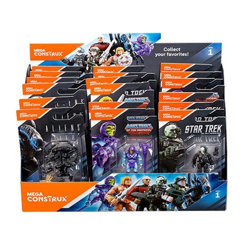 Mega Construx MCX Heroes Mini-Figure Series 5 Display Box