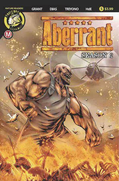 Aberrant Season 2 #5 (of 5) (Cover A – Leon Dias)