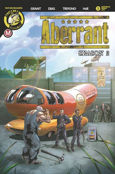 Aberrant Season 2 #5 (of 5) (Cover B – Leon Dias)