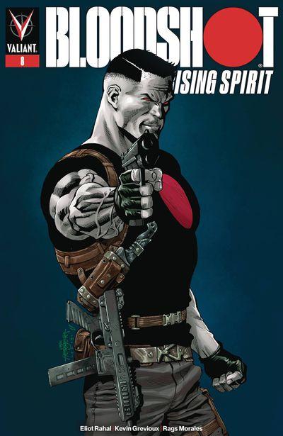 Bloodshot Rising Spirit #8 (Cover B – Herbert)