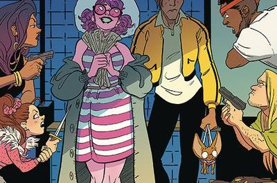 Crowded #7 (Cover A – Stein Brandt & Farrell)