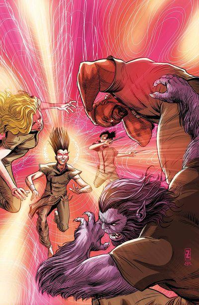 Age of X-man Prisoner X #5 (of 5)