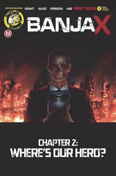 Banjax #2 (Cover B – Alves)