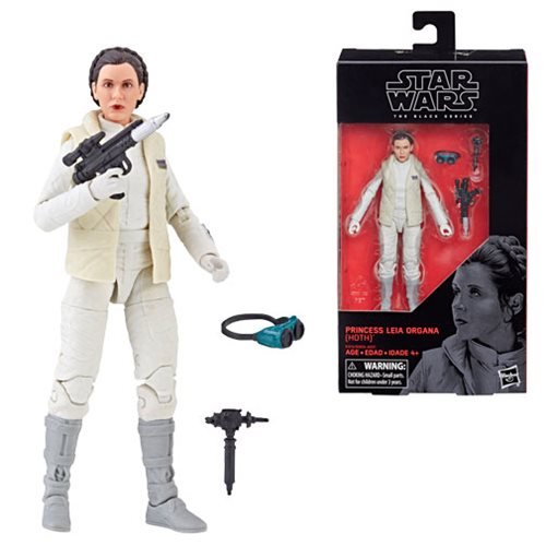 Star Wars The Black Series Princess Leia Organa (Hoth) 6-Inch Action Figure
