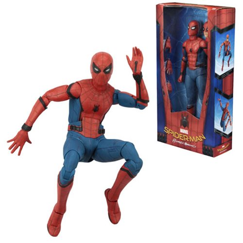 Spider-Man: Homecoming 1:4 Scale Action Figure – Free Shipping