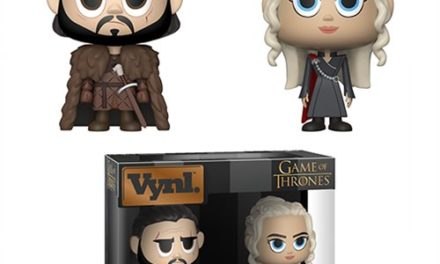 Game of Thrones Jon Snow and Daenerys Targaryen Vynl. Figure