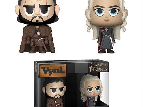 Game of Thrones Jon Snow and Daenerys Targaryen Vynl. Figure
