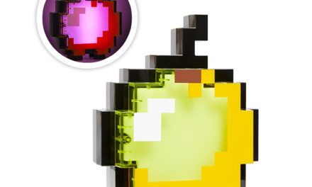 Minecraft Light-Up Enchanted Apple