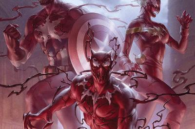 Avengers #22 (Junggeun Yoon Carnage-Ized Variant)