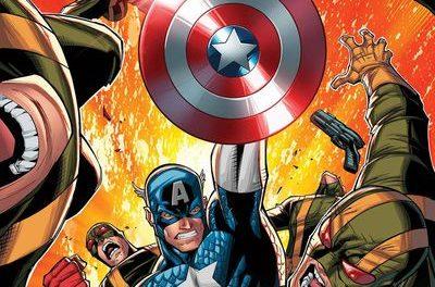 Captain America Invaders Bahamas Triangle #1 (Lim Variant)