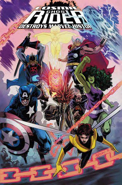 Cosmic Ghost Rider Destroys Marvel History #5 (of 6) Hepburn