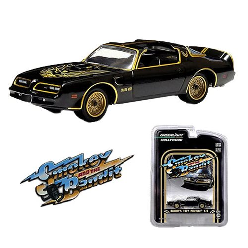 Smokey and the Bandit Pontiac Trans Am Solid Pack 1:64 Scale Die-Cast Metal Vehicle