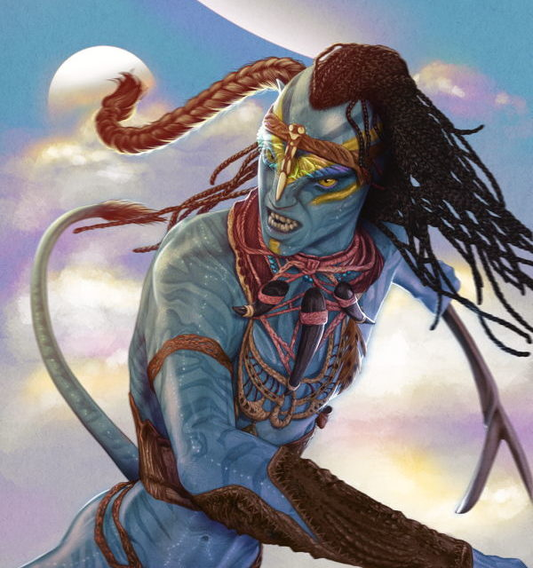 Avatar: Tsu'tey's Path #6 (Shea Standefer Variant Cover)