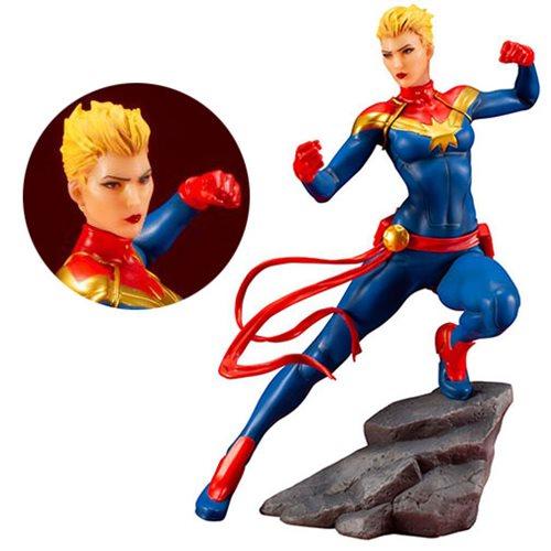 Marvel Universe Captain Marvel 1:10 Scale ARTFX+ Statue – Free Shipping