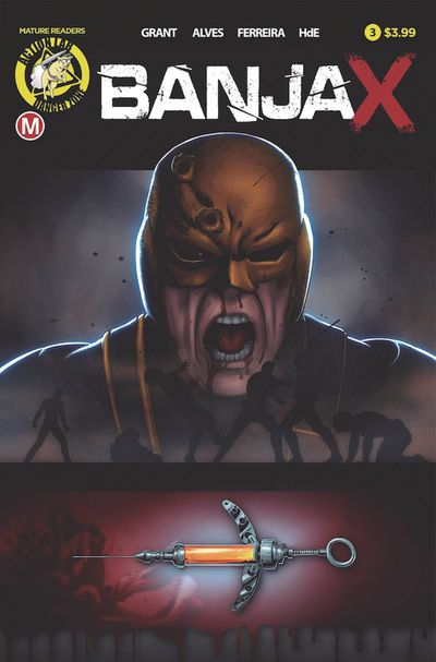 Banjax #3 (Cover A – Alves)