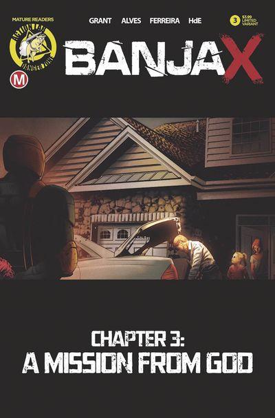 Banjax #3 (Cover B – Alves)