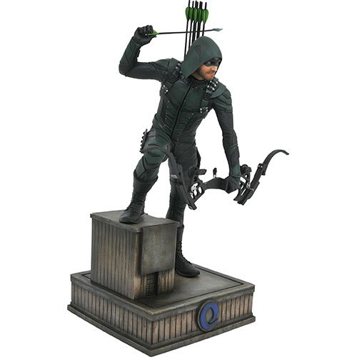 Green Arrow TV Series Gallery Statue