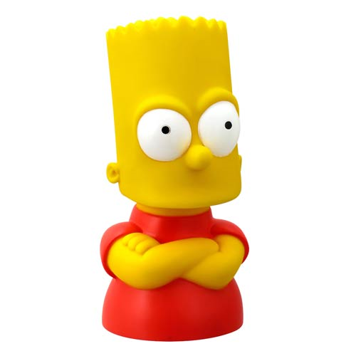 The Simpsons Bart Simpson Bust Bank