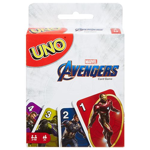 Avengers Uno Game