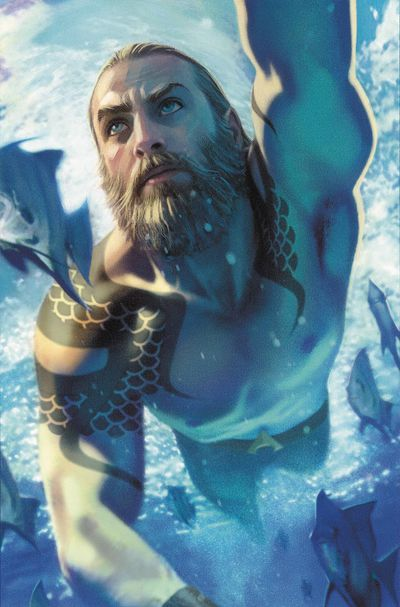 Aquaman #51 (Card Stock Variant) (YOTV)