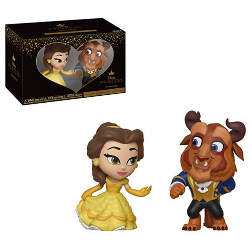Beauty and the Beast Belle and Beast Mystery Minis 2-Pack