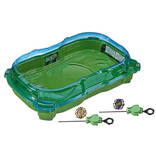 Beyblade Burst Turbo Slingshock Cross Collision Battle Set