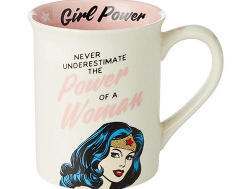 DC Comics Wonder Woman Girl Power 16 oz. Mug