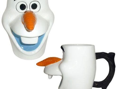 Frozen Olaf 20 oz. Sculpted Ceramic Mug
