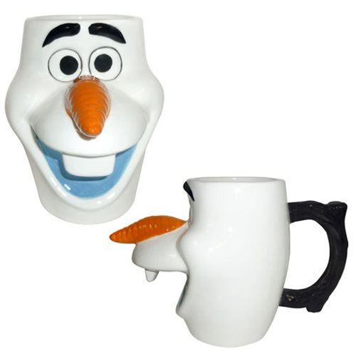 Frozen Olaf 20 oz. Sculpted Ceramic Mug