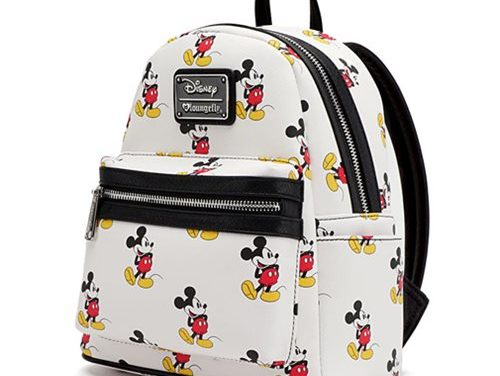 Mickey Mouse Print Mini-Backpack
