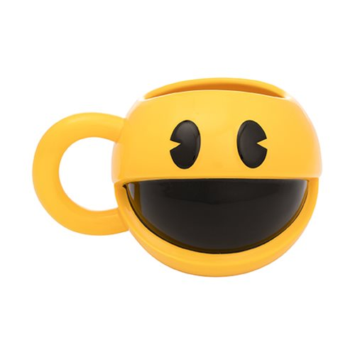 Pac-Man 16 oz. Sculpted Ceramic Mug