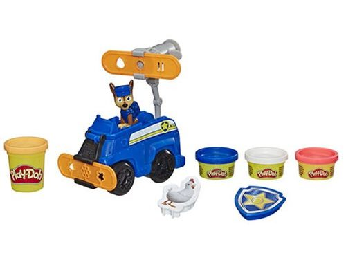 Paw Patrol Play-Doh Rescue Rolling Chase
