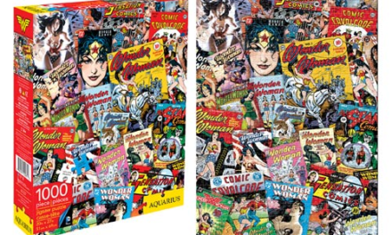 Wonder Woman Comic Book Covers 1,000-Piece Puzzle