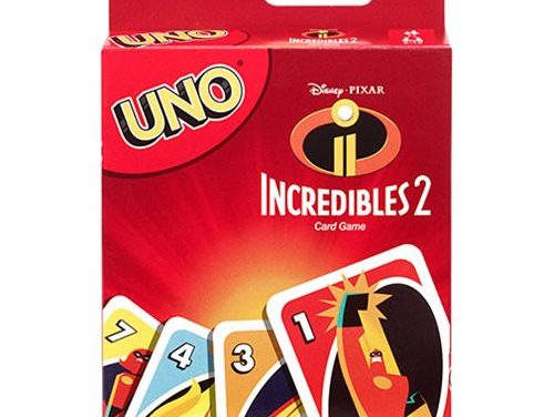 Incredibles 2 Uno Game
