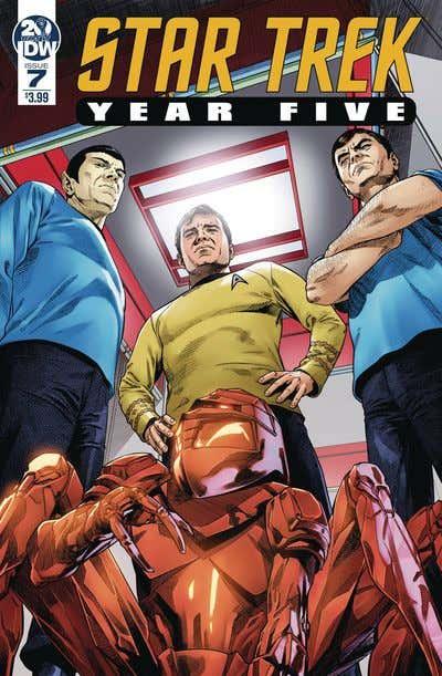 Star Trek Year Five #7 (Cover A – Thompson)