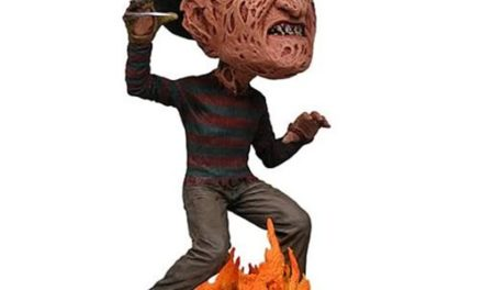 Nightmare on Elm Street Freddy Krueger Head Knocker Bobble Head