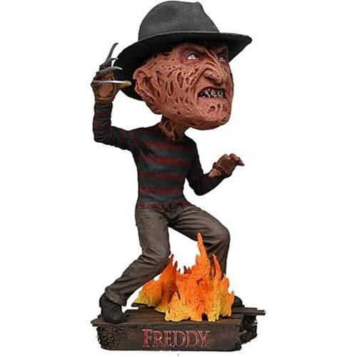 Nightmare on Elm Street Freddy Krueger Head Knocker Bobble Head