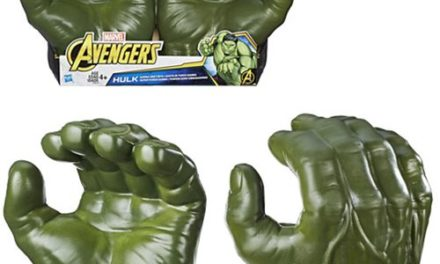 Avengers: Infinity War Hulk Gamma Grip Fists – Free Shipping