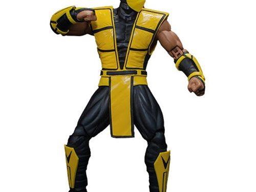 Mortal Kombat 3 Scorpion 1:12 Scale Action Figure – Free Shipping